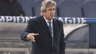 Inter Milan striker Jovetic discusses problems with Man City, Pellegrini