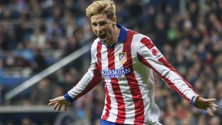 Fernando Torres celebrates reclaiming Atletico Madrid No9 shirt