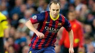 Iniesta full of praise for Barcelona keeper Ter Stegen