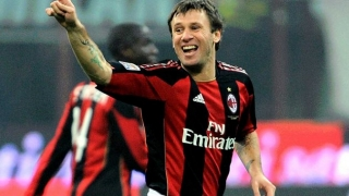 Ex-AC Milan, Real Madrid striker Cassano declares comeback plans
