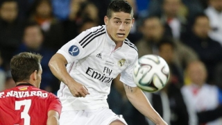 James delighted to get on scoresheet in thumping Real Madrid win