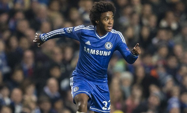Willian slams talk of rift between Mourinho and Chelsea players