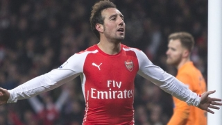 Arsenal midfielder Cazorla proud of Spanish brace
