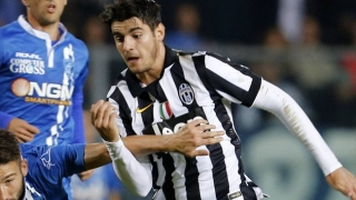 Morata happy in new-look Juventus atack