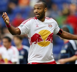 Arsenal legend Thierry Henry closer to taking New York Red Bulls job