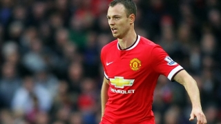 Evans on the way out at Man Utd