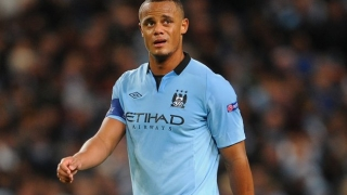 ​Kompany happy to fight for his spot at City