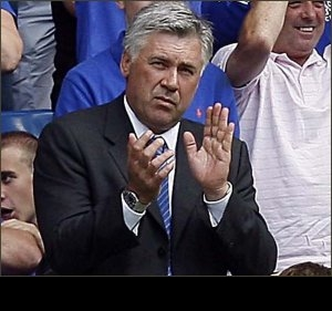Ancelotti targets more Chelsea away goals to retain title