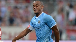 Kompany content with current Man City form