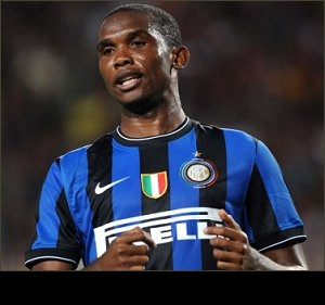 Agent expects Anzhi move rubberstamped today for Inter star Eto'o