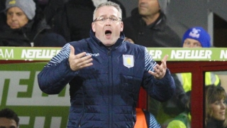 Villa boss Lambert seeking loan striker signing