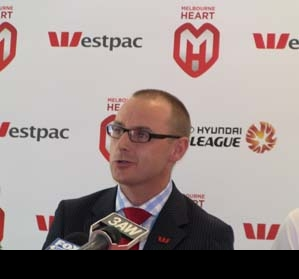 Westpac and Melbourne Heart partner up