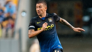 Kolarov enjoying life as a Man City centre-back