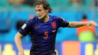 Man Utd pair Blind, Darmian involved as Holland lose to Italy