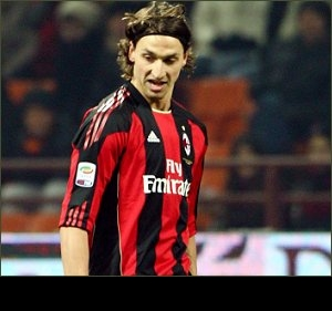 Ibrahimovic sees red for AC Milan AGAIN: I swore at myself