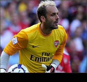 Arsenal playing with fire? Will Lehmann and Almunia survive in same locker room?