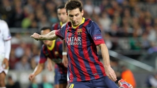 Barcelona star Messi tribute to Pablo Aimar
