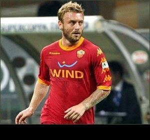 Roma chief Sabatini adamant De Rossi will not go to Man City