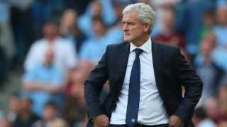 Stoke boss Hughes bemoans missed penalty in Liverpool loss