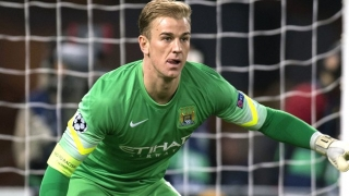 Joe Hart admits Man City 'situation'; jokes about passing stats
