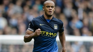 ​Belgium boss pessimistic over timescale for injured Man City skipper Kompany