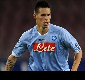 Napoli's Hamsik fully prepared for 'difficult' Man City