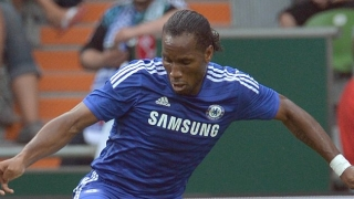 Chelsea legend Drogba drops into Real Madrid training in Canada