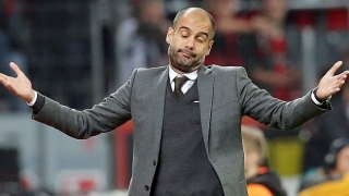 Man City boss Guardiola happy with squad make-up