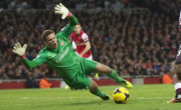 ​Szczesny completes loan switch from Arsenal to Roma