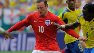 "De Rossi enjoyed ""physical"" clash with England striker Rooney"