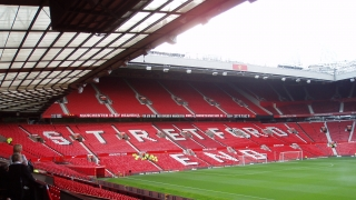 Stretford End Banner shows Manchester to be a 'city united'