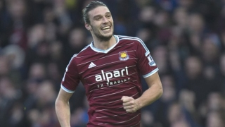 Andy Carroll scores in West Ham friendly