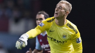 ​Everton pass on Man City keeper Hart