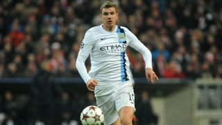 Dzeko remaining defiant amid Man City exit rumours