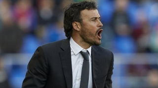 Barcelona coach Luis Enrique: Man Utd can win treble