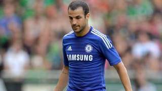 Iniesta happy for Cesc over Chelsea success