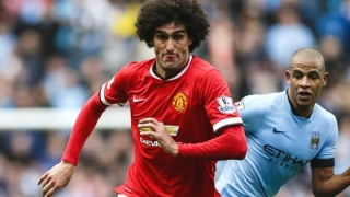 Man Utd star Fellaini splits with glamorous girlfriend