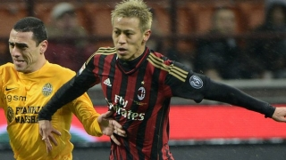 AC Milan boss Inzaghi delighted with Serie A top scorer Keisuke Honda