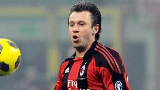 Inter Milan coach Stramaccioni hints at furious Cassano bust-up