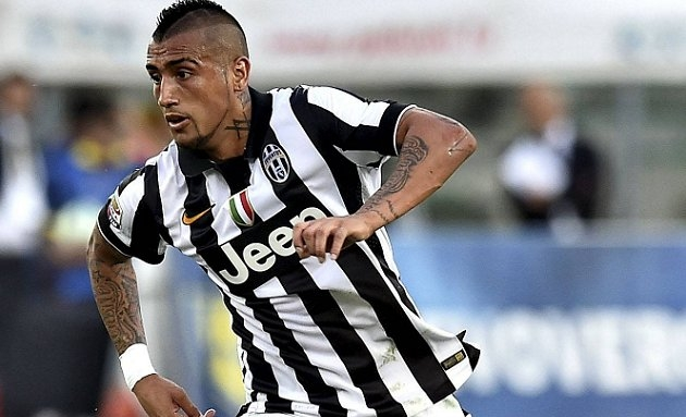 REVEALED: Juventus ace Vidal due Real Madrid medical in Santiago