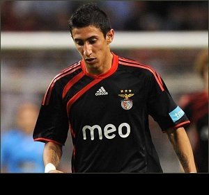 Real Madrid strike terms for Benfica star winger Di Maria