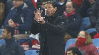 Atletico Madrid coach Diego Simeone happy after Valencia rout