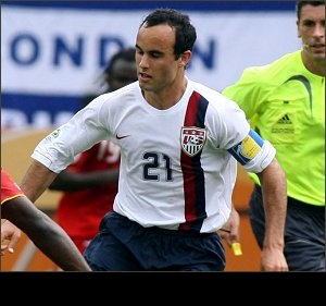 Landon Donovan: First US breakout soccer star