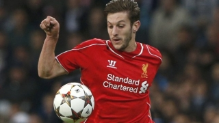 Liverpool midfielder Lallana thrilled to reunite with former Southampton mate Clyne