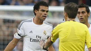 Pepe fears Real Madrid want him OUT