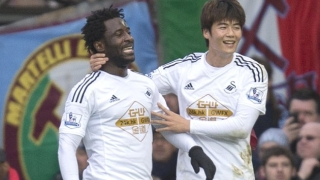​Swansea striker Bony bears no grudges after horror Man City spell