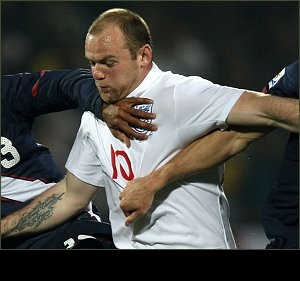 EURO 2012 GROUP G QUALIFIER: England qualify as Rooney sees red