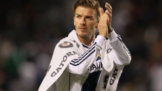 Man Utd legend Beckham announces LA Galaxy departure