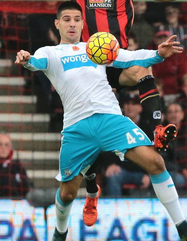 Anderlecht closing deal for Newcastle striker Aleksandar Mitrovic