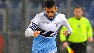 Lazio midfielder Felipe Anderson shrugs off his critics